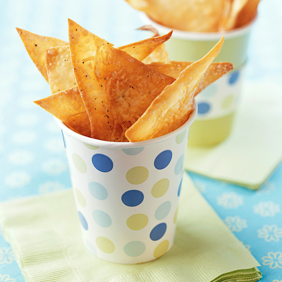 Crispy Parmesan Chips Diabetic Living Magazine
