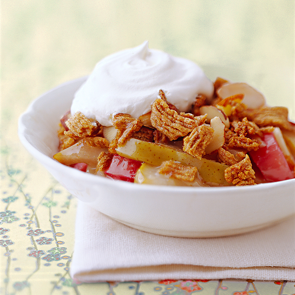Pear-Rhubarb Crisp Diabetic Living Magazine