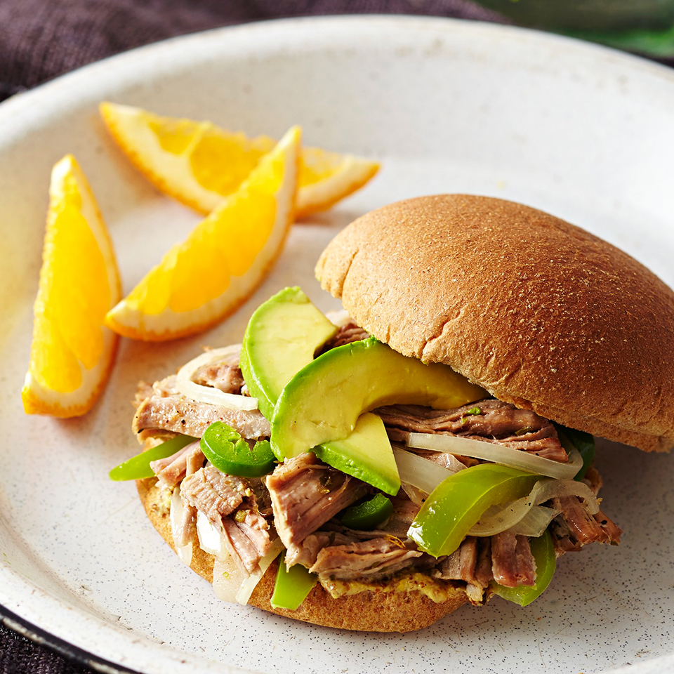 Cuban Pulled Pork Sandwich Diabetic Living Magazine
