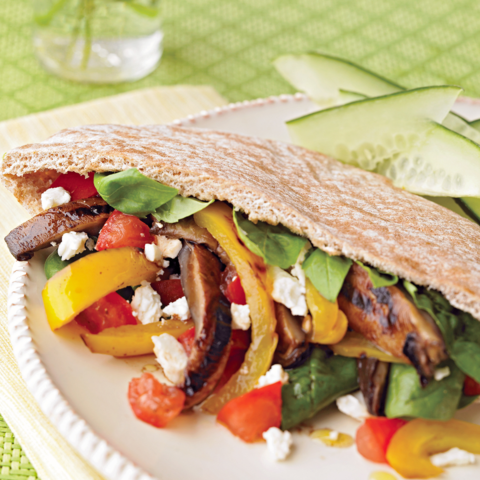 Grilled Vegetable Pitas Trusted Brands