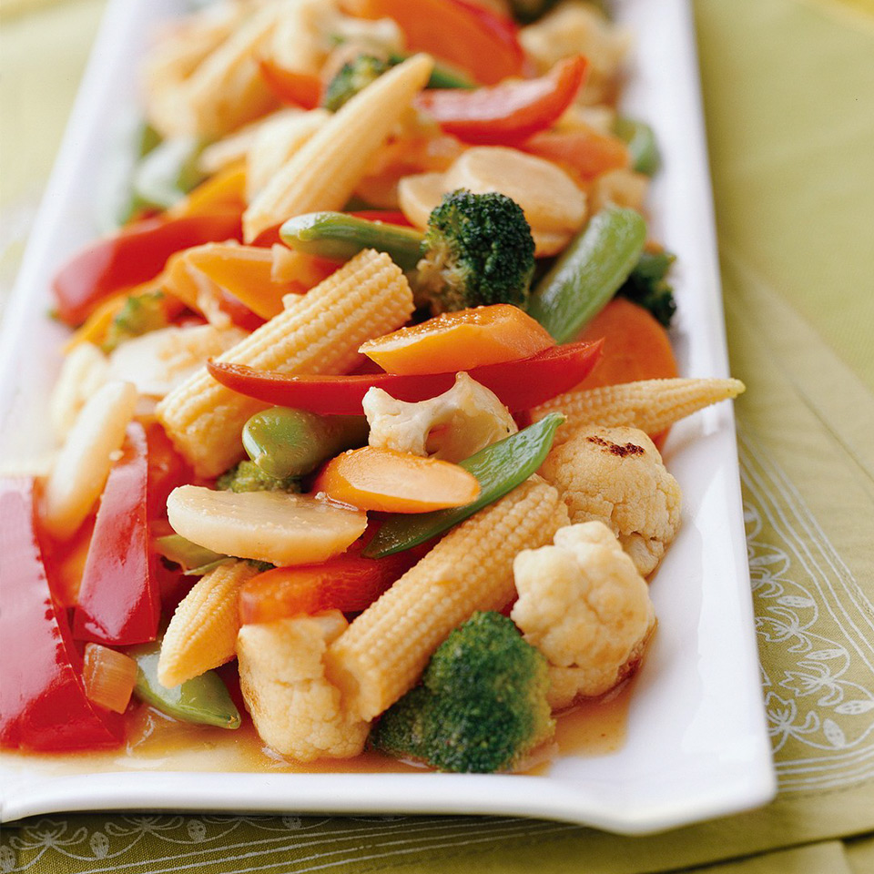 Ginger Vegetable Stir-Fry Trusted Brands