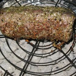 Grilled Beef Tenderloin with Herb-Garlic-Pepper Coating PAMELA D. aPROpos of nothing