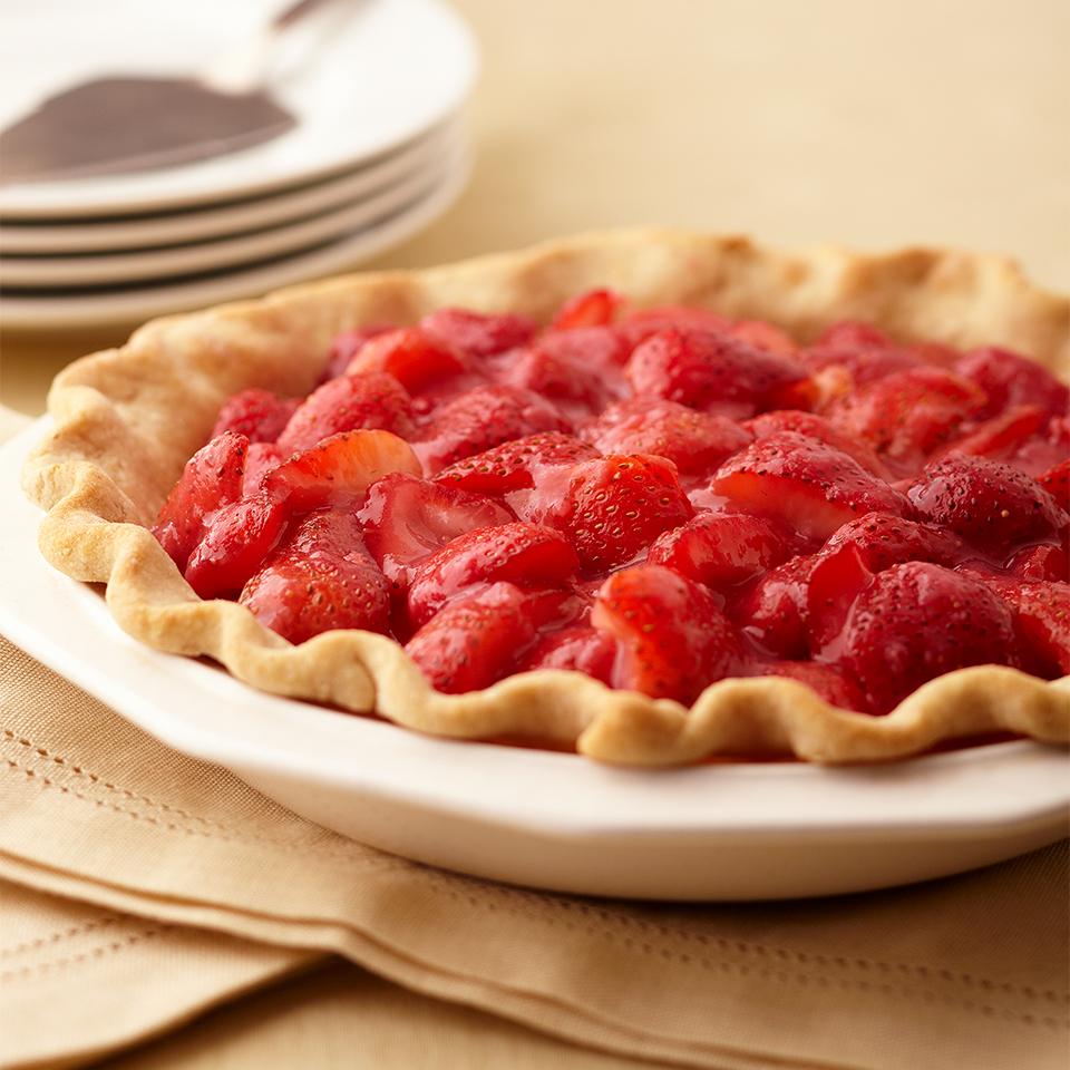 Glazed Strawberry Pie Diabetic Living Magazine