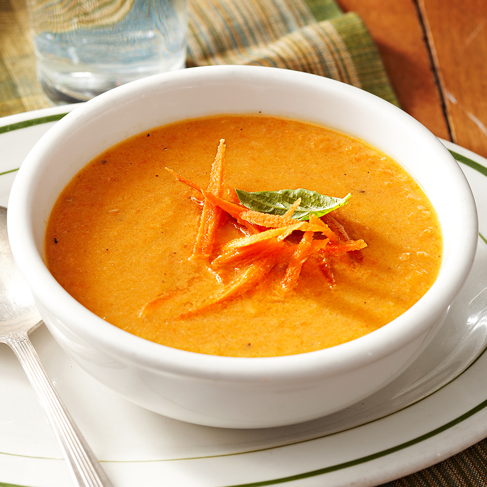 Roasted Carrot Soup Diabetic Living Magazine