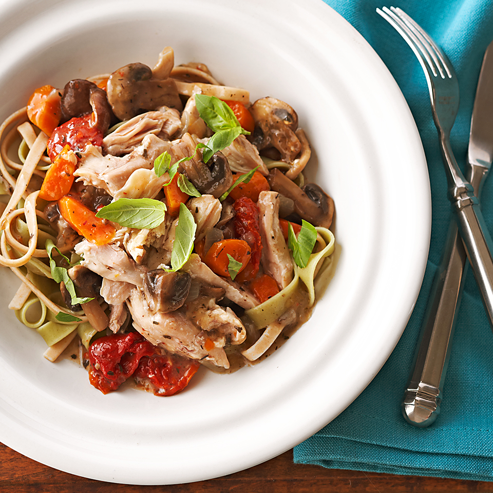 Herbed Chicken and Mushrooms Allrecipes Trusted Brands