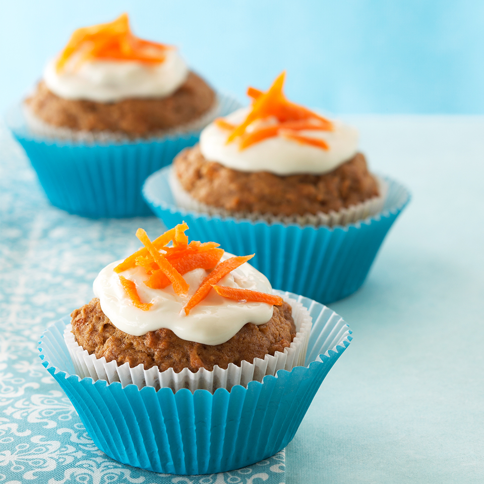 Carrot Cupcakes with Cream Cheese Frosting Diabetic Living Magazine