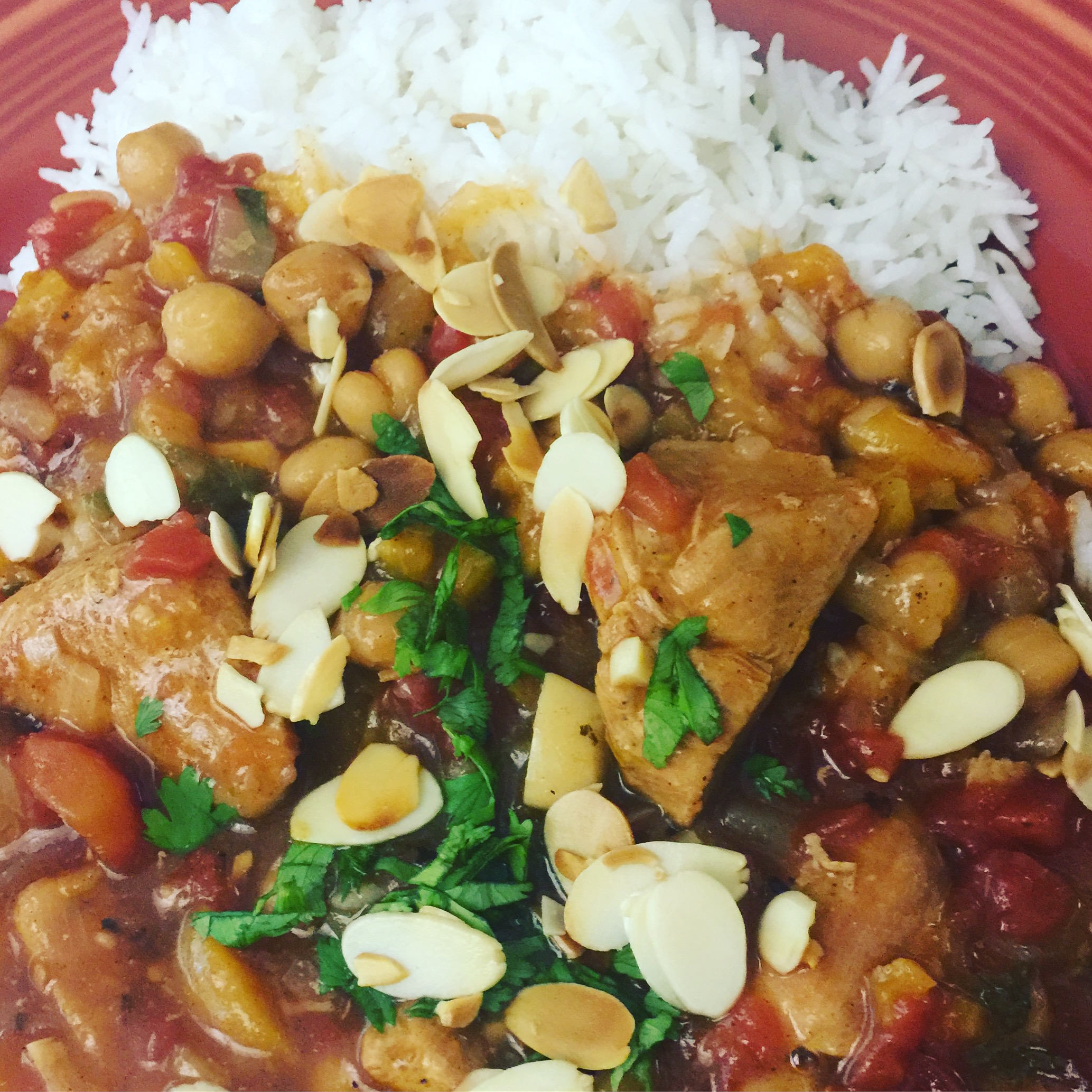 Slow Cooker Moroccan Chicken juliebu