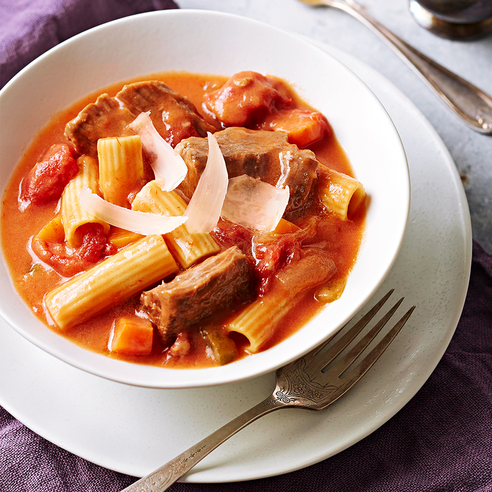 Pot Roast Rigatoni Stew Trusted Brands