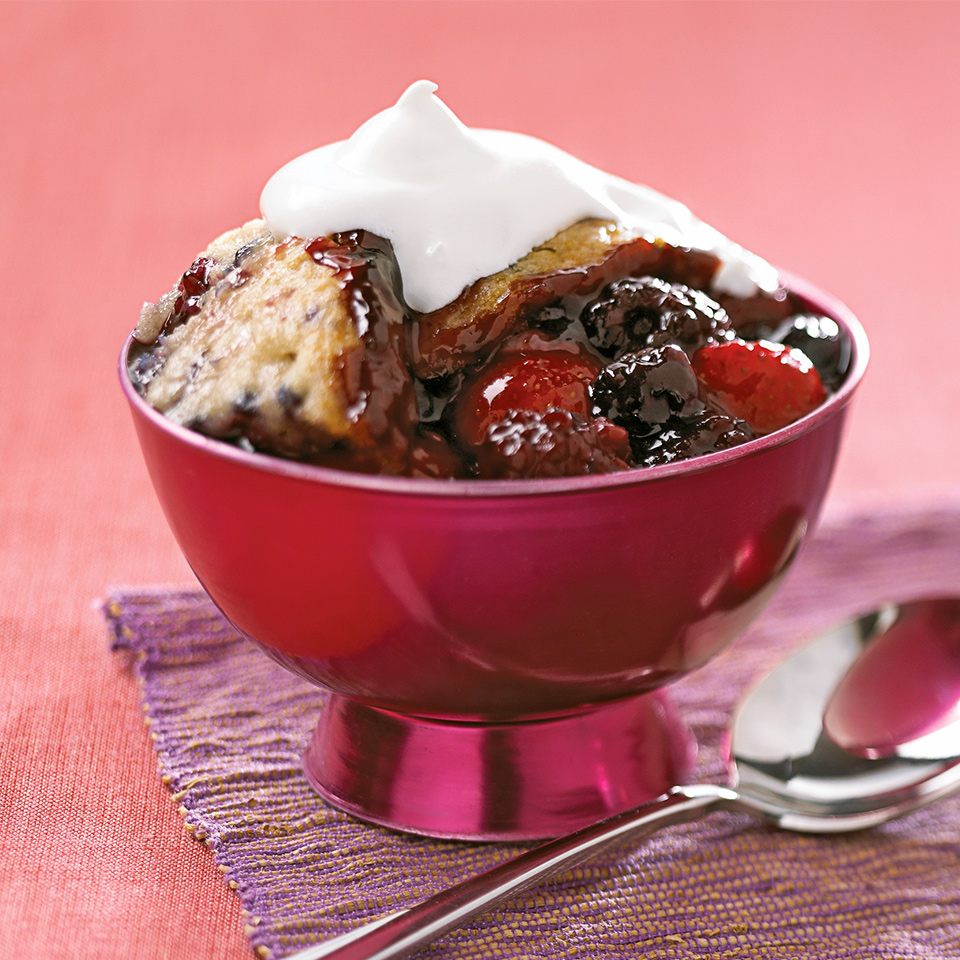 Mixed Berry Cobbler Diabetic Living Magazine