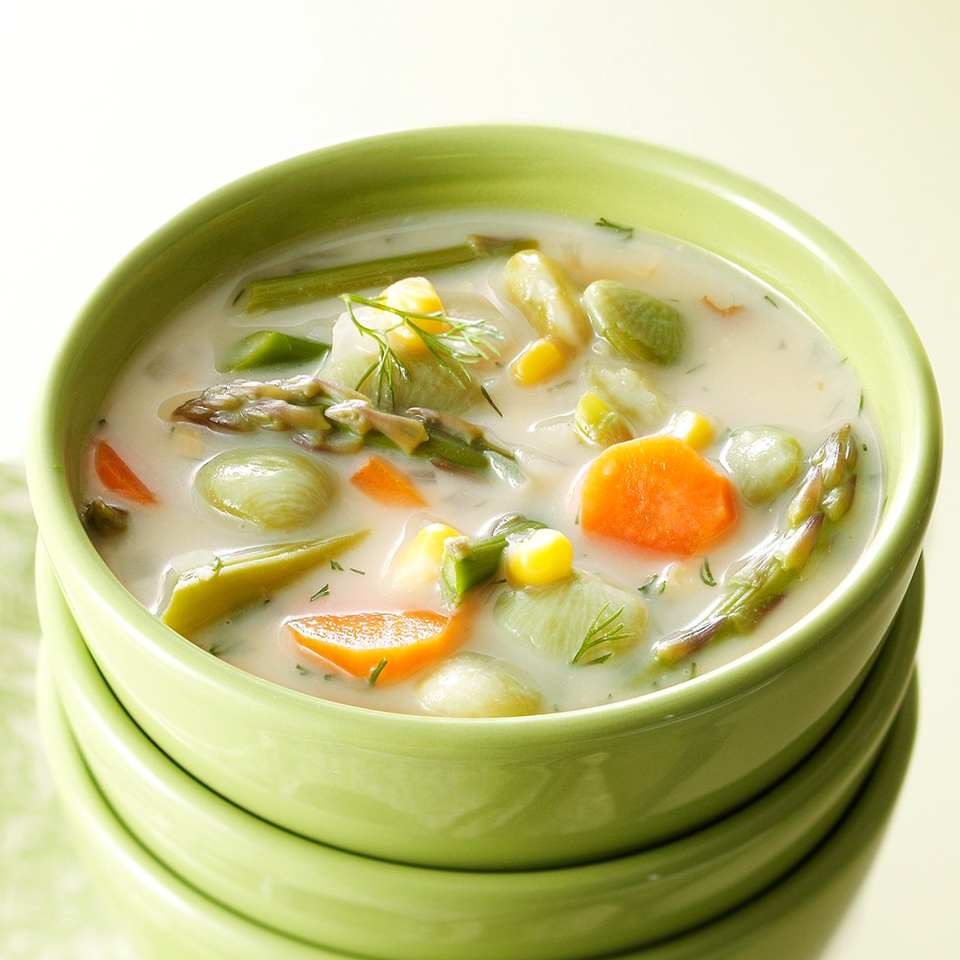 Creamy Succotash Soup Trusted Brands