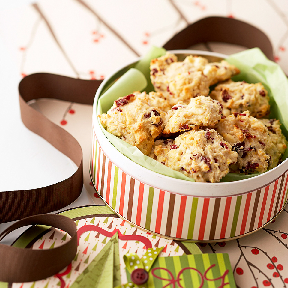 Cranberry-White Chocolate Cornmeal Tea Biscuits Diabetic Living Magazine