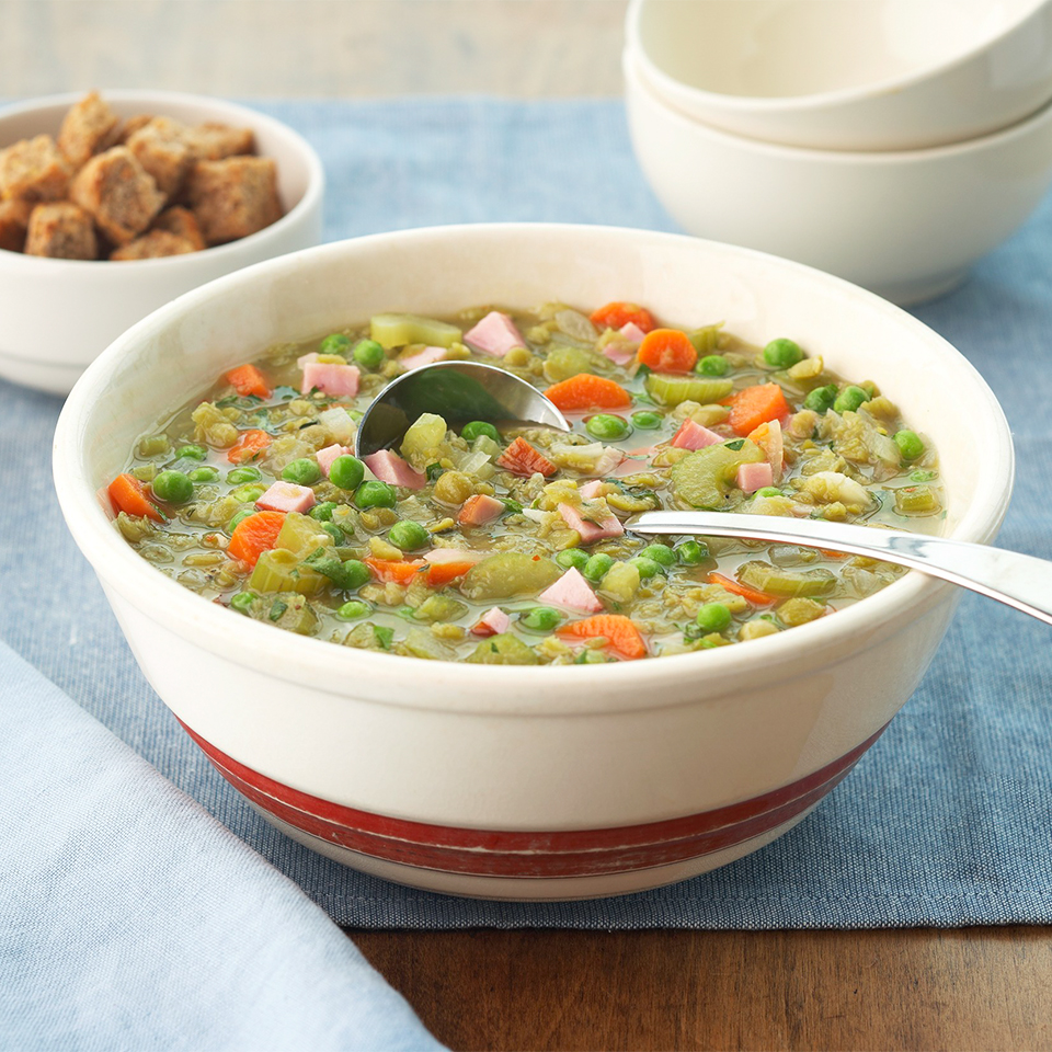 Sherried Pea Soup with Ham Allrecipes Trusted Brands