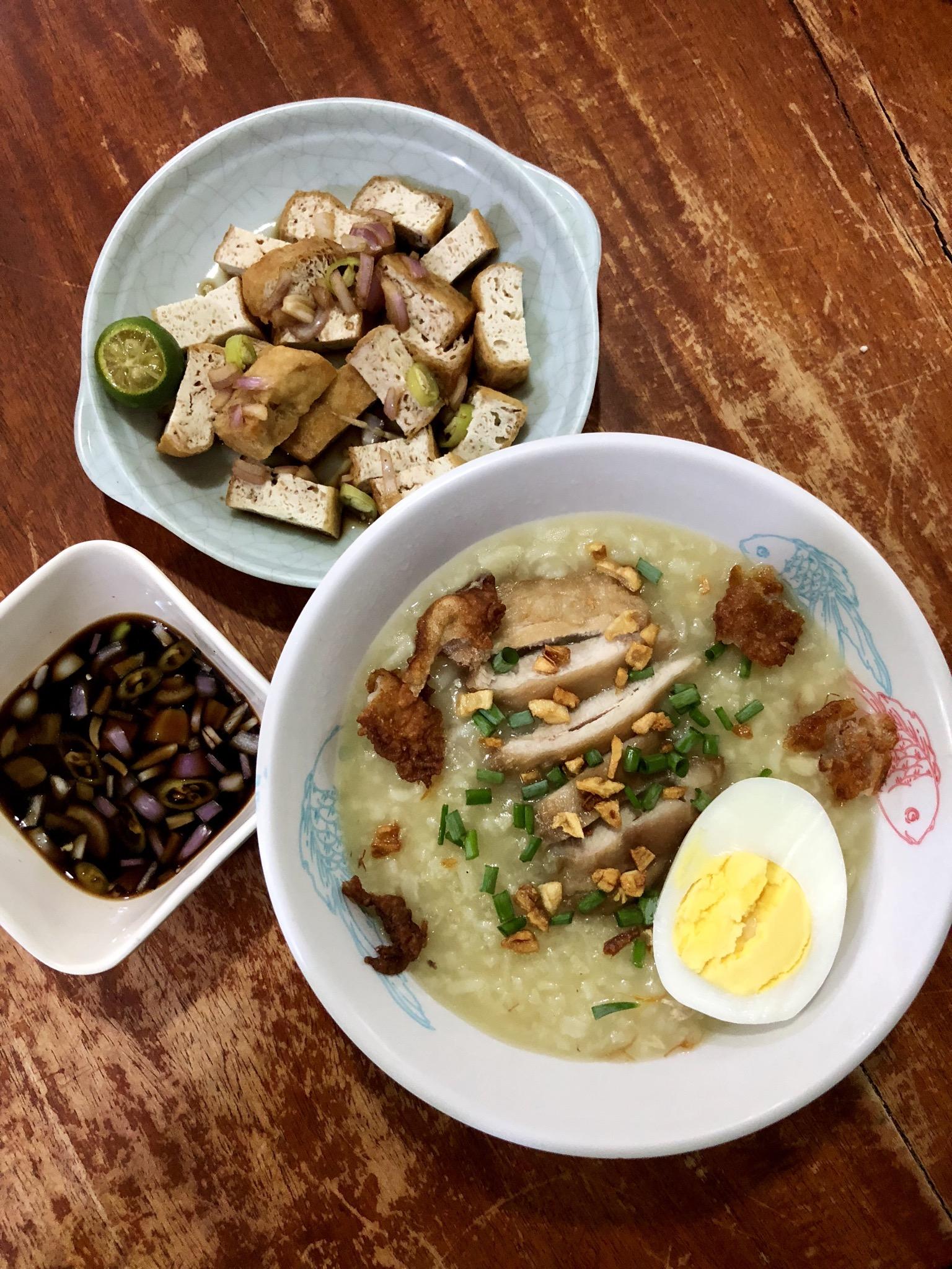 Chicken Arroz Caldo (Chicken Rice Porridge) Roxy Bautista