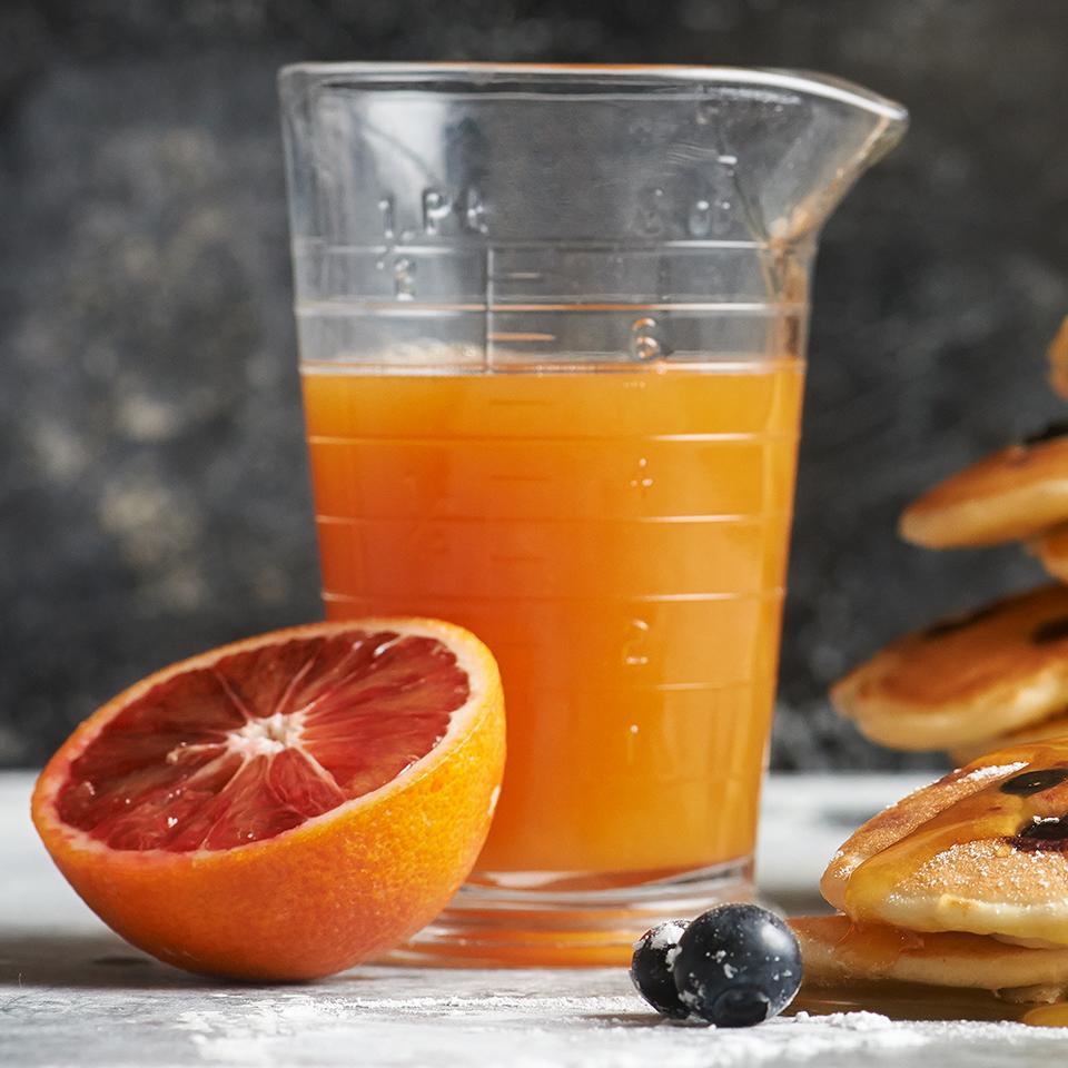 Blood Orange Syrup Diabetic Living Magazine