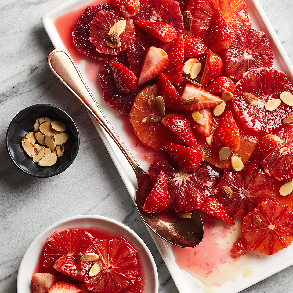 Blood Oranges with Almond Syrup Allrecipes Trusted Brands