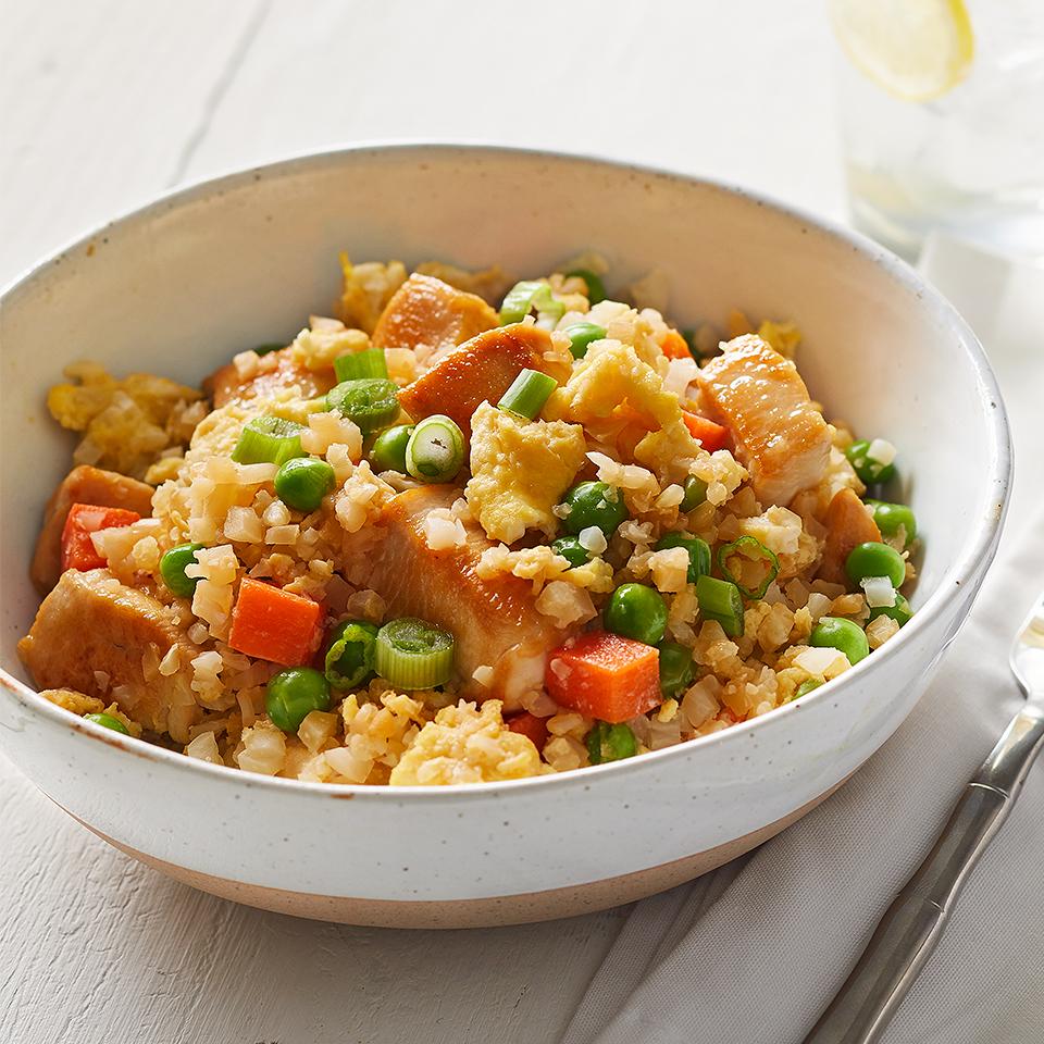 Chicken Cauliflower Fried Rice Diabetic Living Magazine