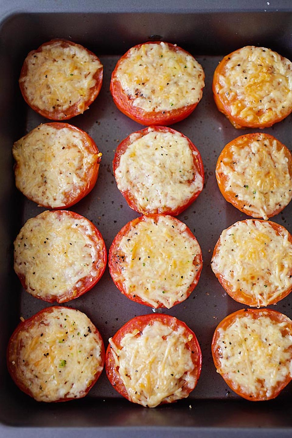Parmesan-Roasted Tomatoes Butch Chandler