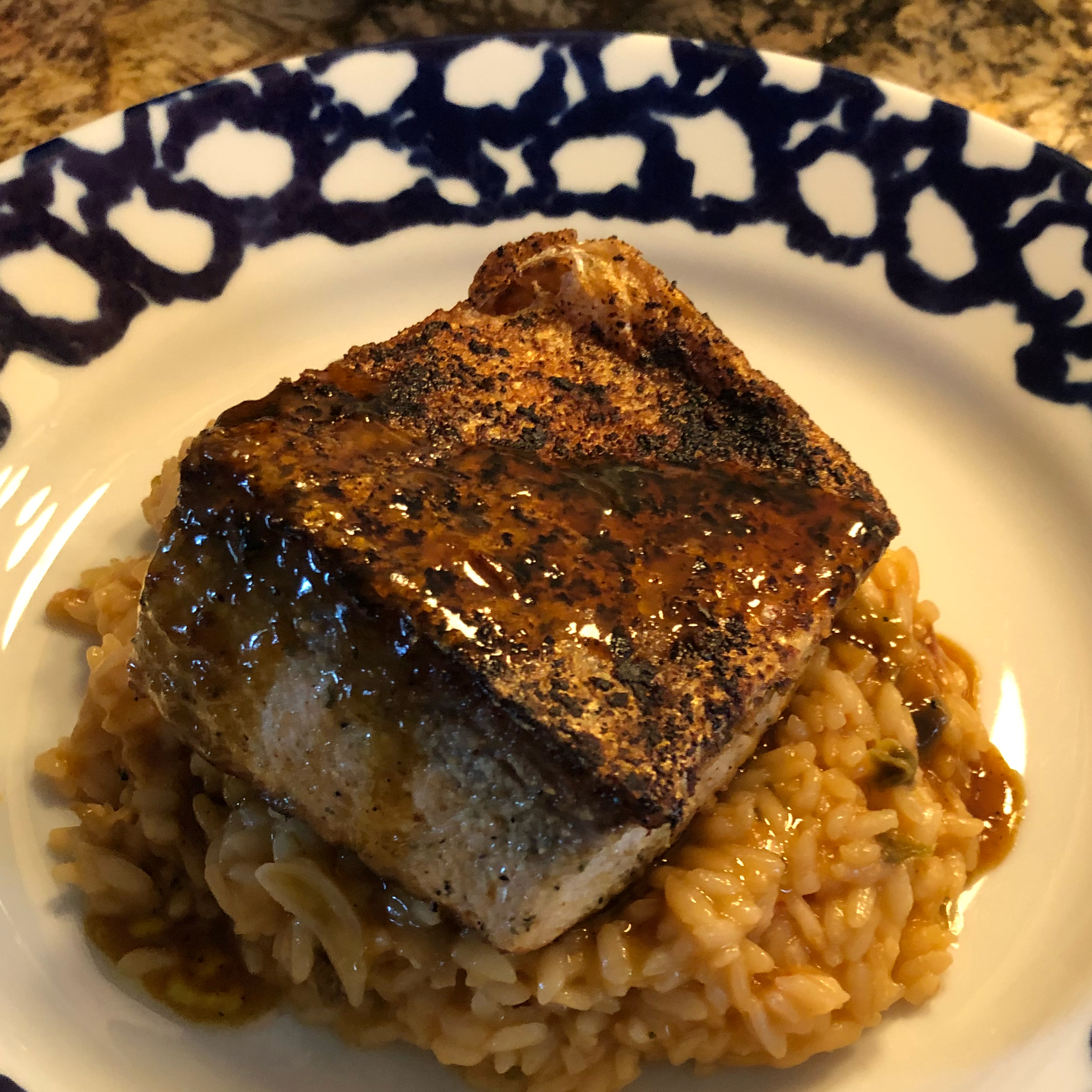 Orange Salmon with Creole Seasoning LADYZANNAH
