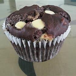 easy white chocolate chip muffins recipe