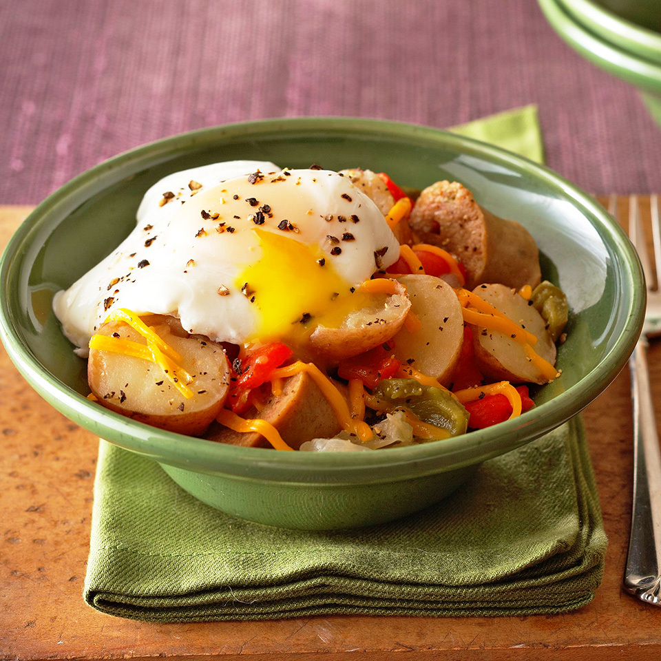 Potato, Sausage and Egg Breakfast Diabetic Living Magazine