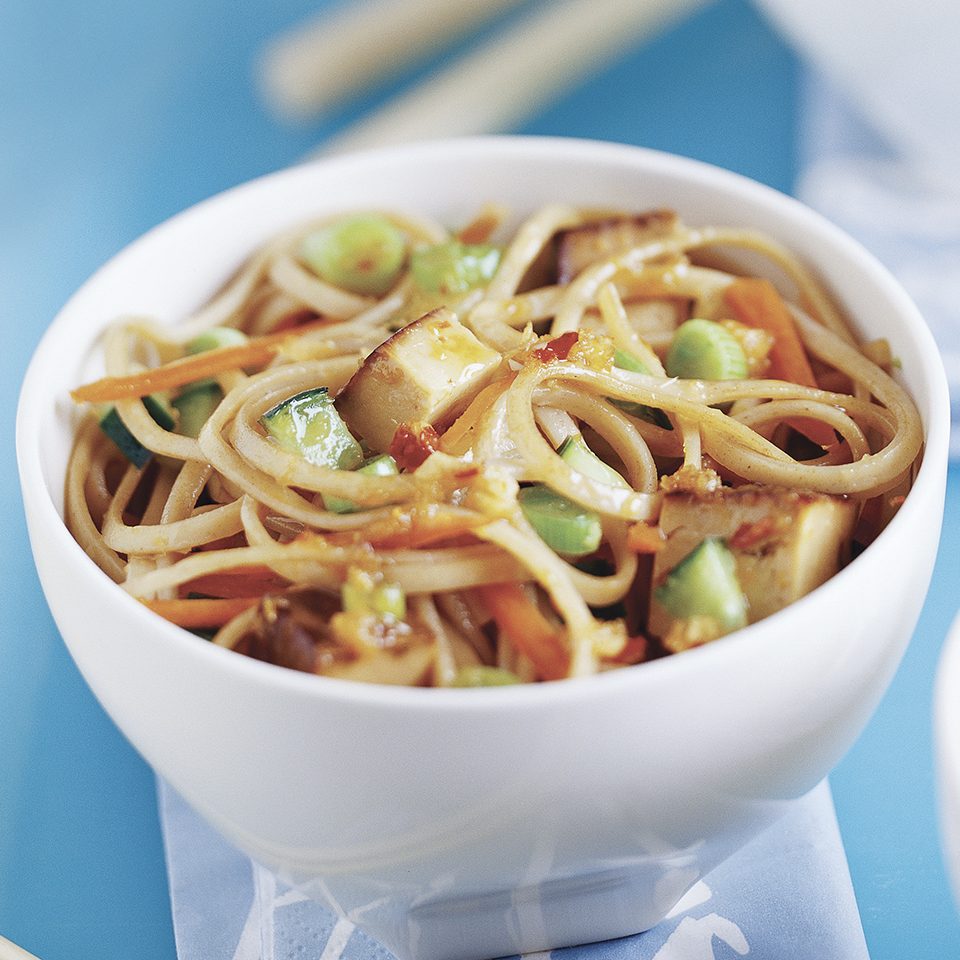 Udon Noodles with Tofu Diabetic Living Magazine