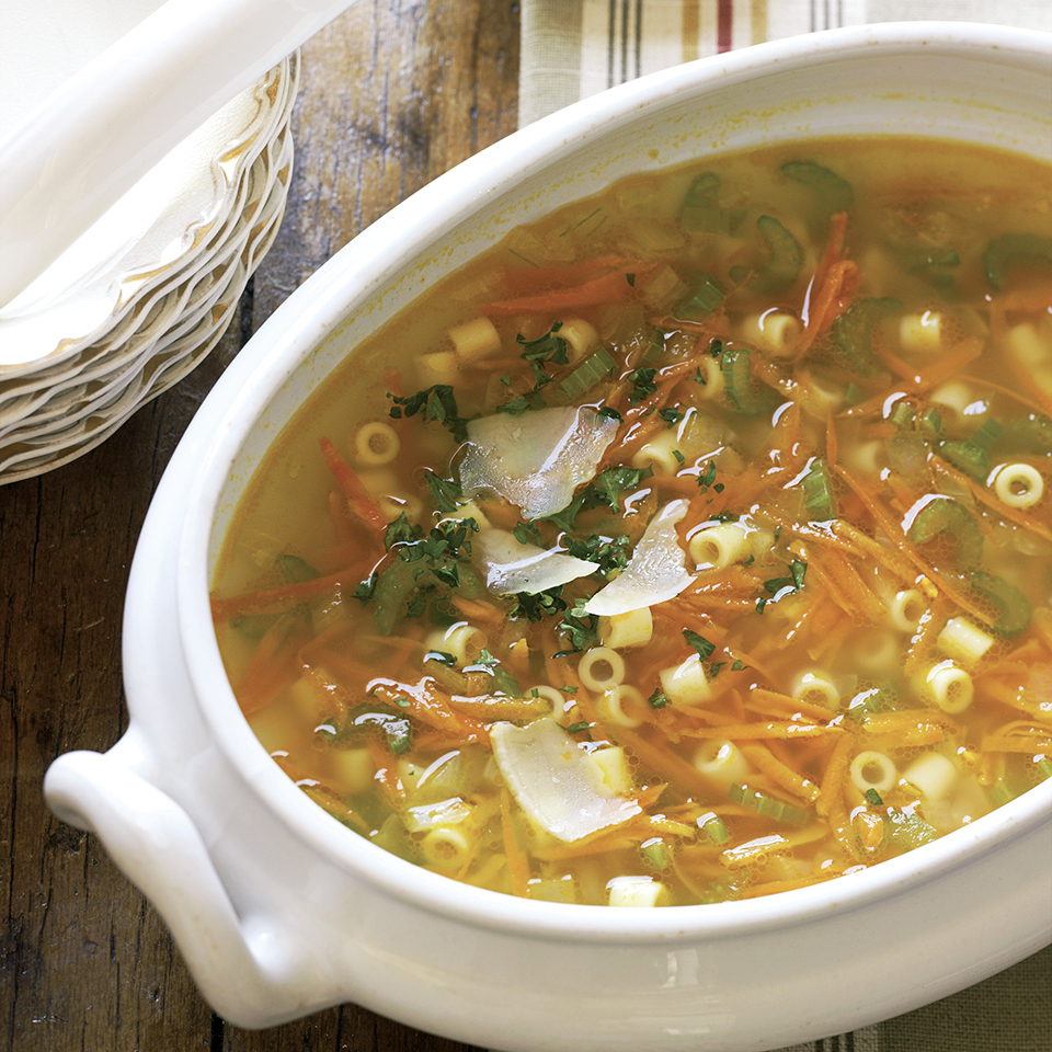 Vegetable Pasta Soup Diabetic Living Magazine