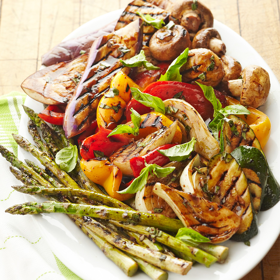 Grilled Vegetable Platter Diabetic Living Magazine