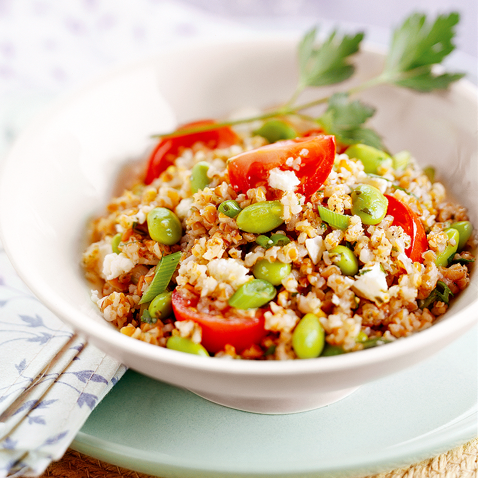 Tabbouleh With Edamame and Feta Trusted Brands