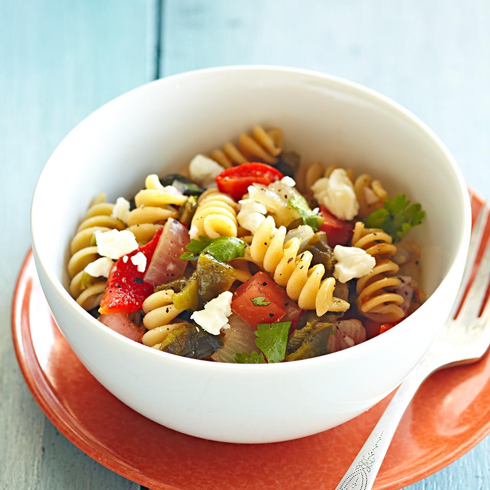 Poblano Pasta Salad Diabetic Living Magazine