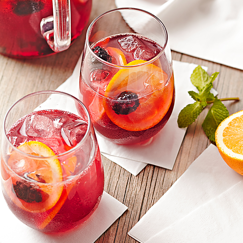 Blackberry Tea Sangria Diabetic Living Magazine