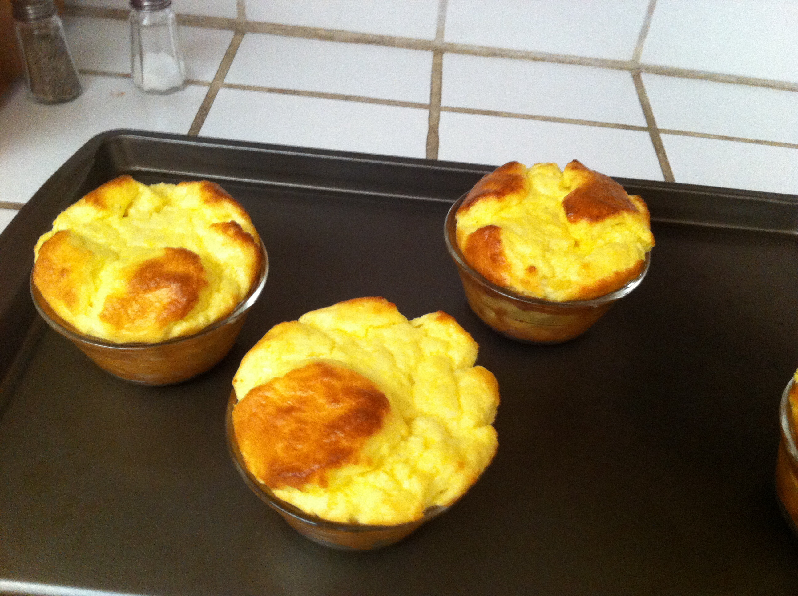 Apple and Cheddar Cheese Souffles JHeadley