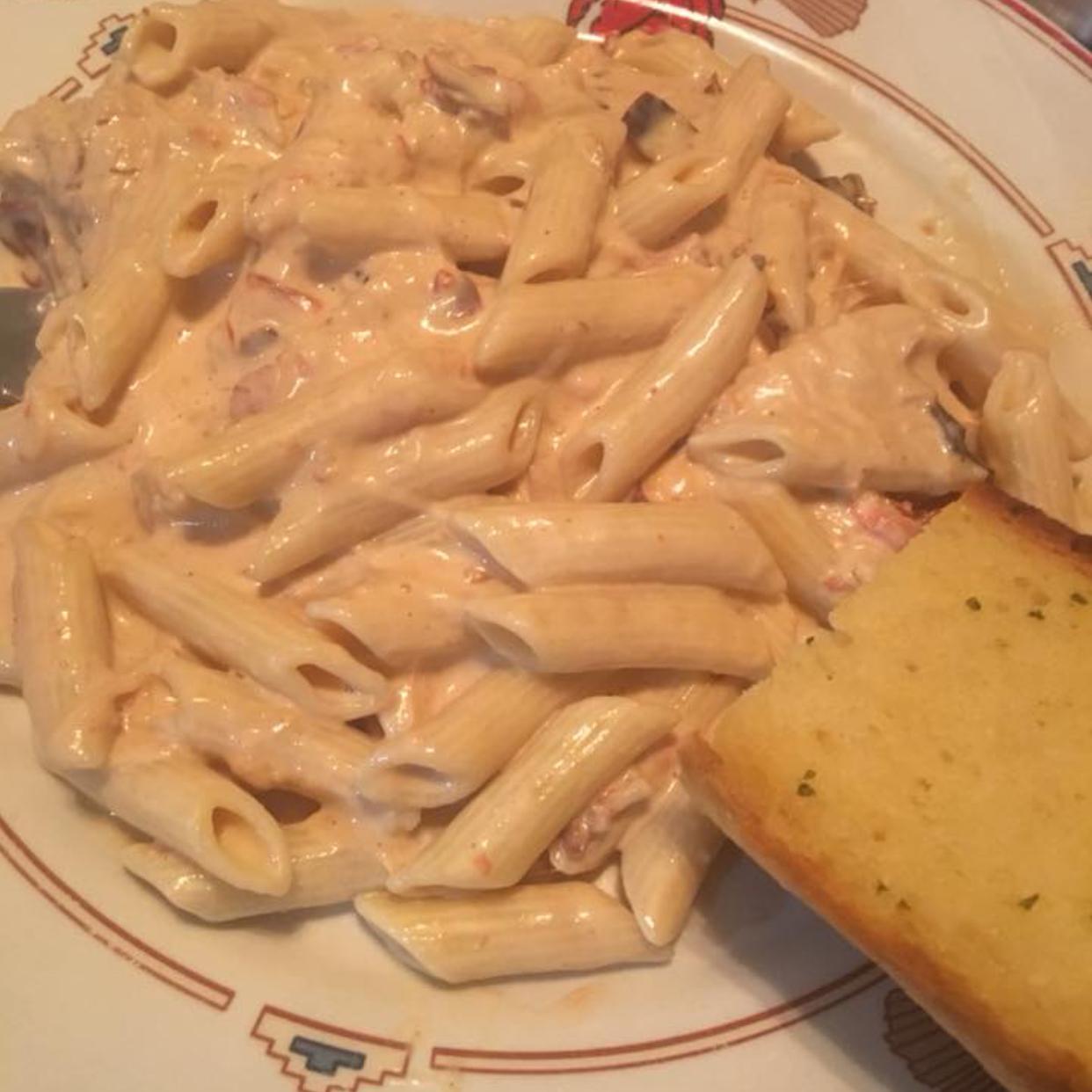 Habanero Pepper Cream Pasta