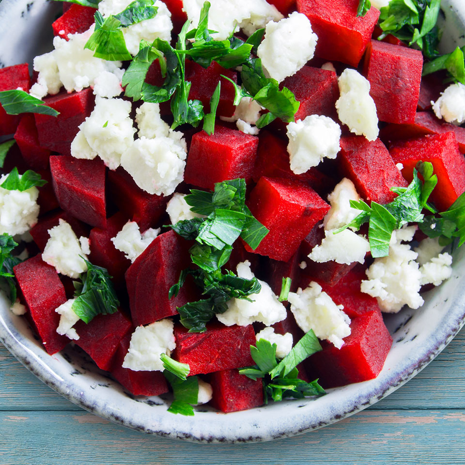 Watermelon Goat Cheese Salad