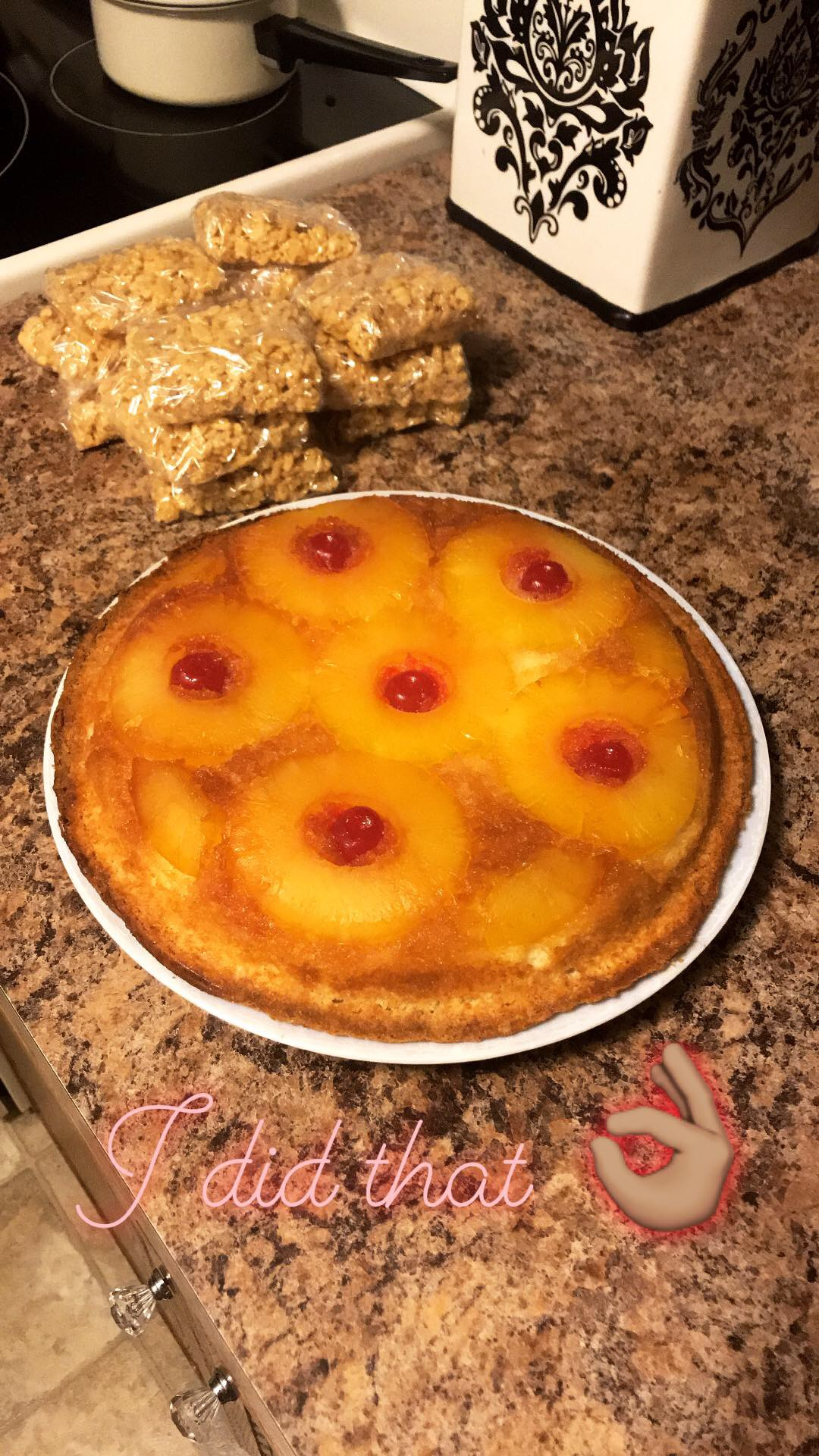 Pineapple Upside Down Cake from DOLE®
