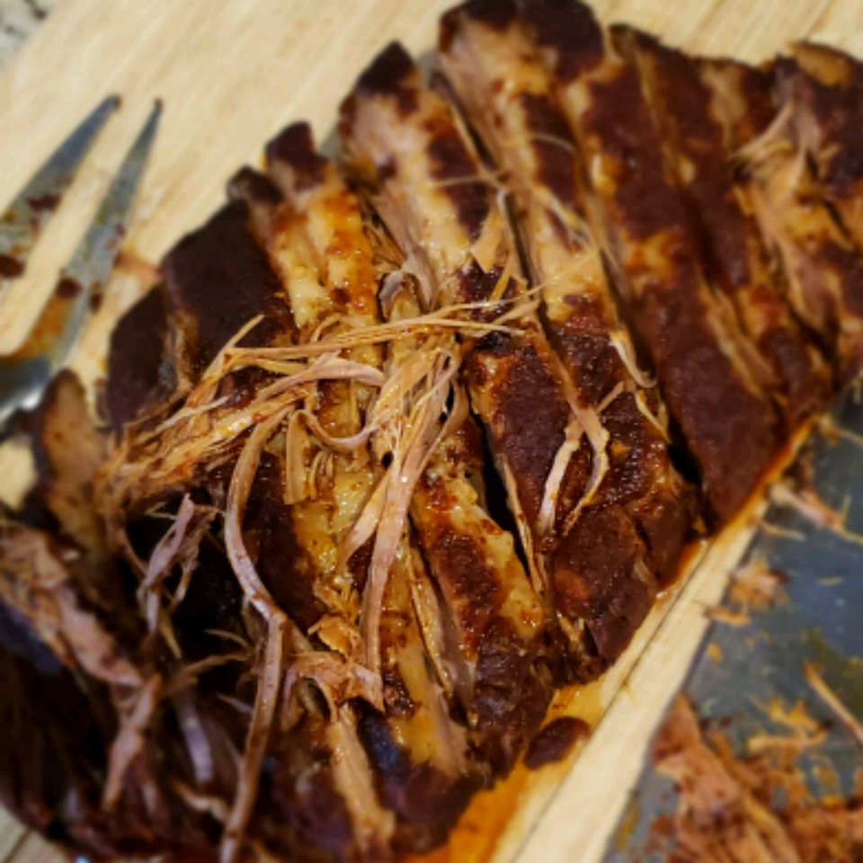 Slow Cooker Texas Smoked Beef Brisket