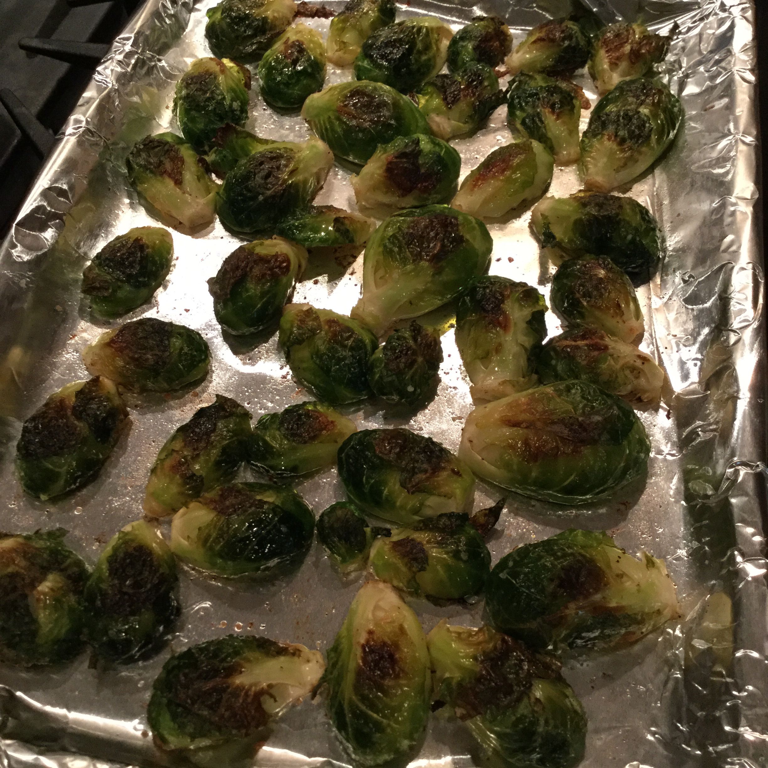 Roasted Brussels Sprouts ReelWench