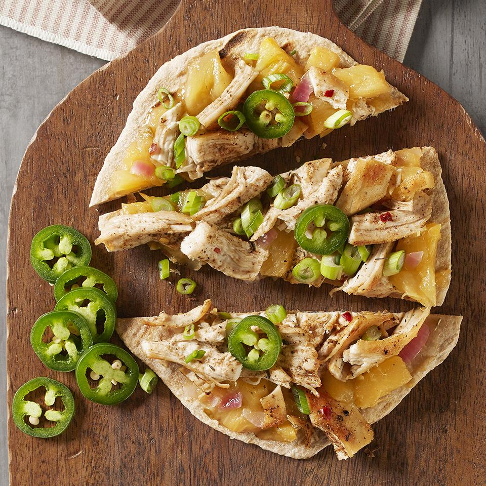 Caribbean Jerk Chicken Pizza Trusted Brands