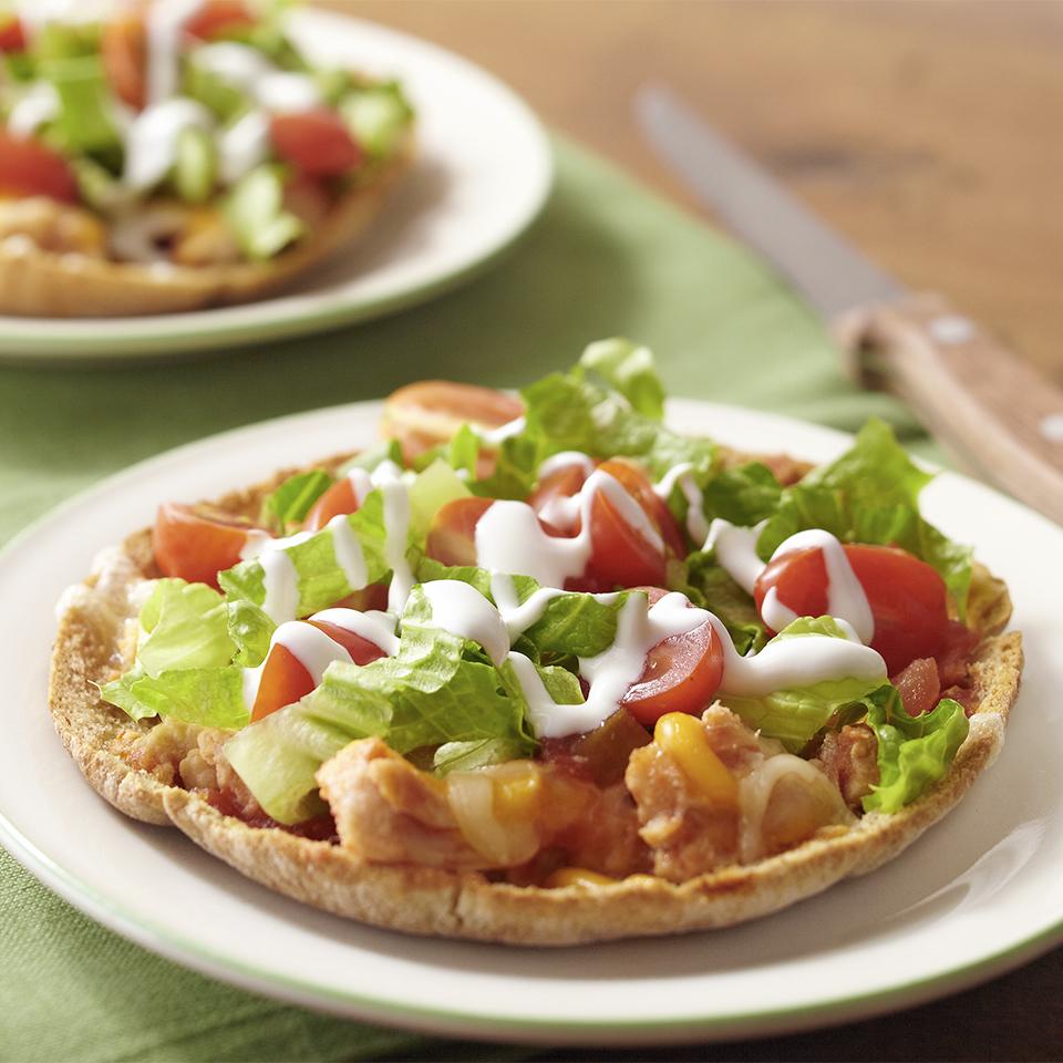 Chicken Taco Pizzas Diabetic Living Magazine