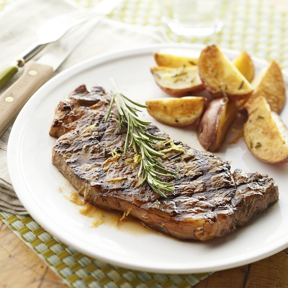 Grilled New York Strip Steaks Diabetic Living Magazine