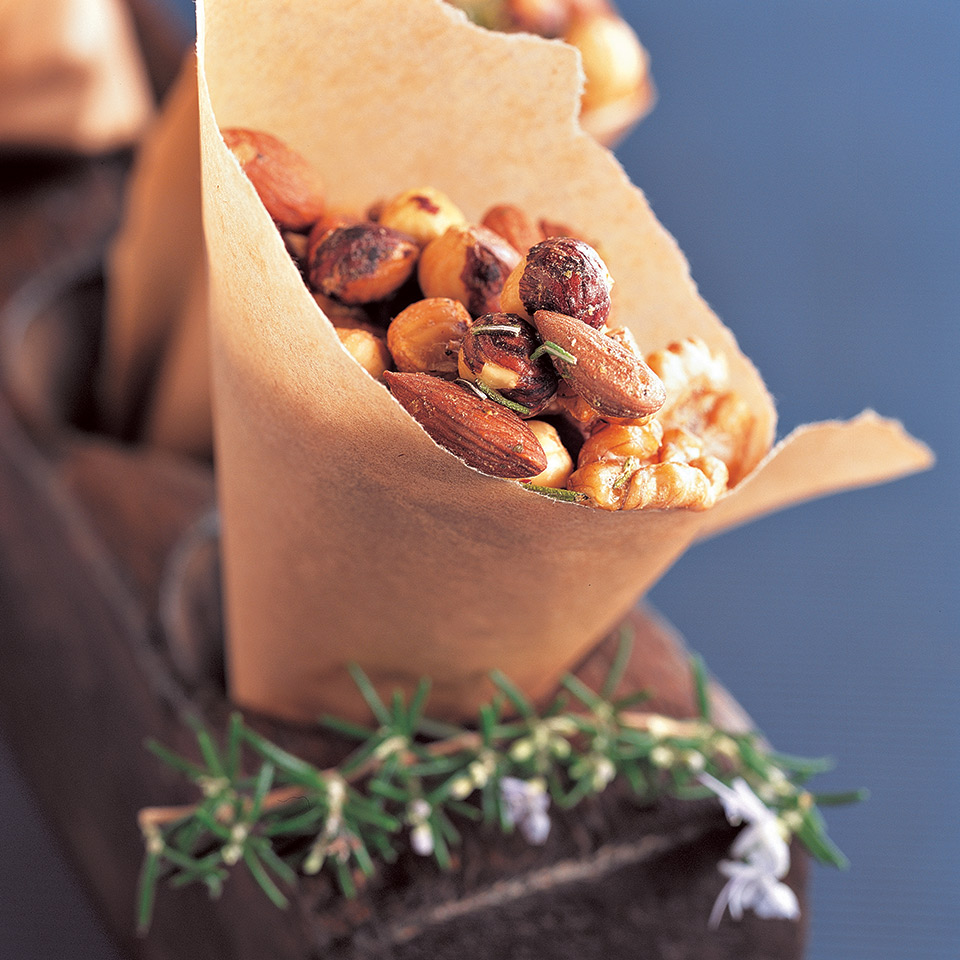 Rosemary Roasted Nuts Diabetic Living Magazine