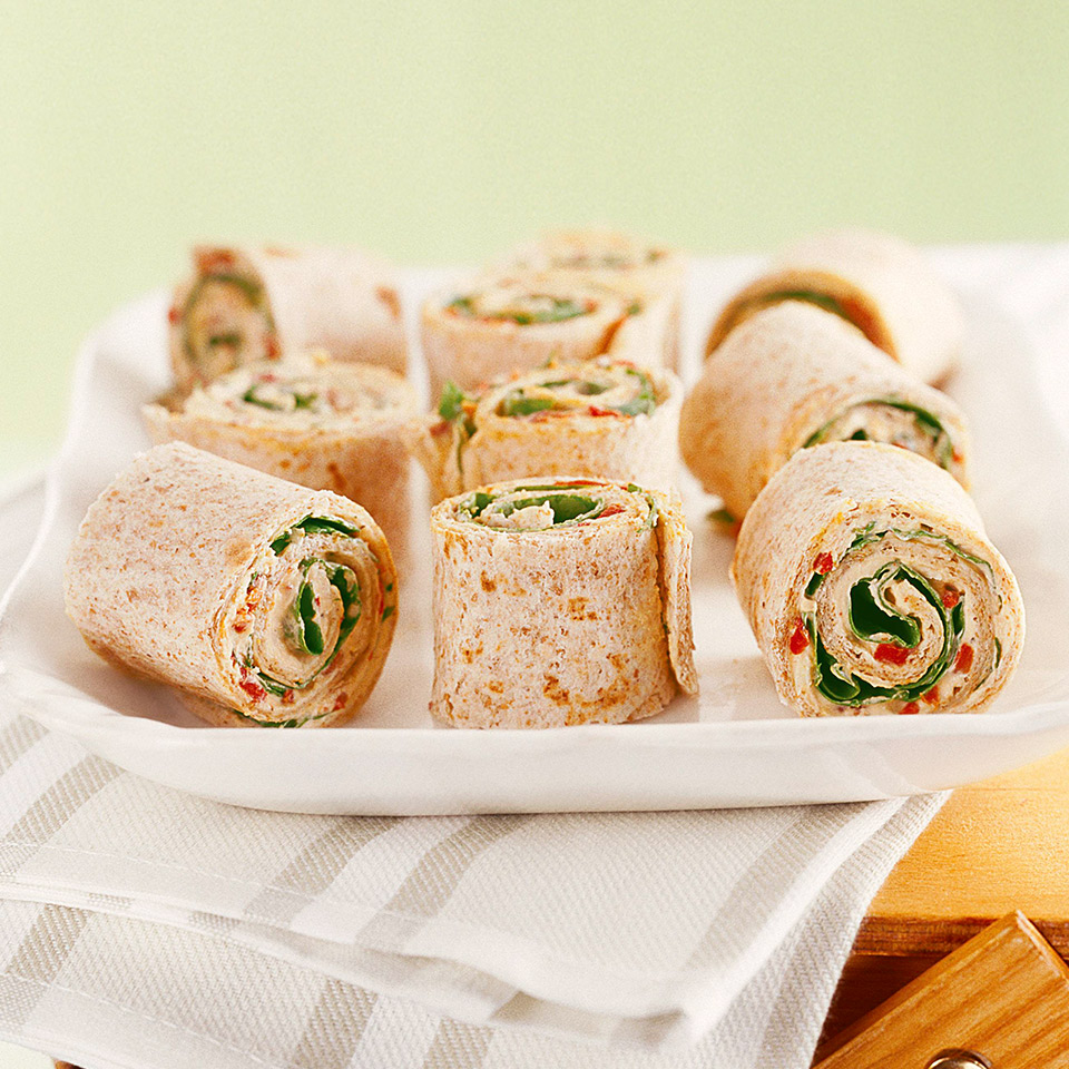 Roasted Pepper Roll-Ups Diabetic Living Magazine