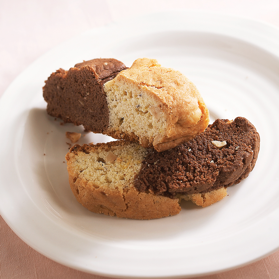 Two-Tone Biscotti Diabetic Living Magazine