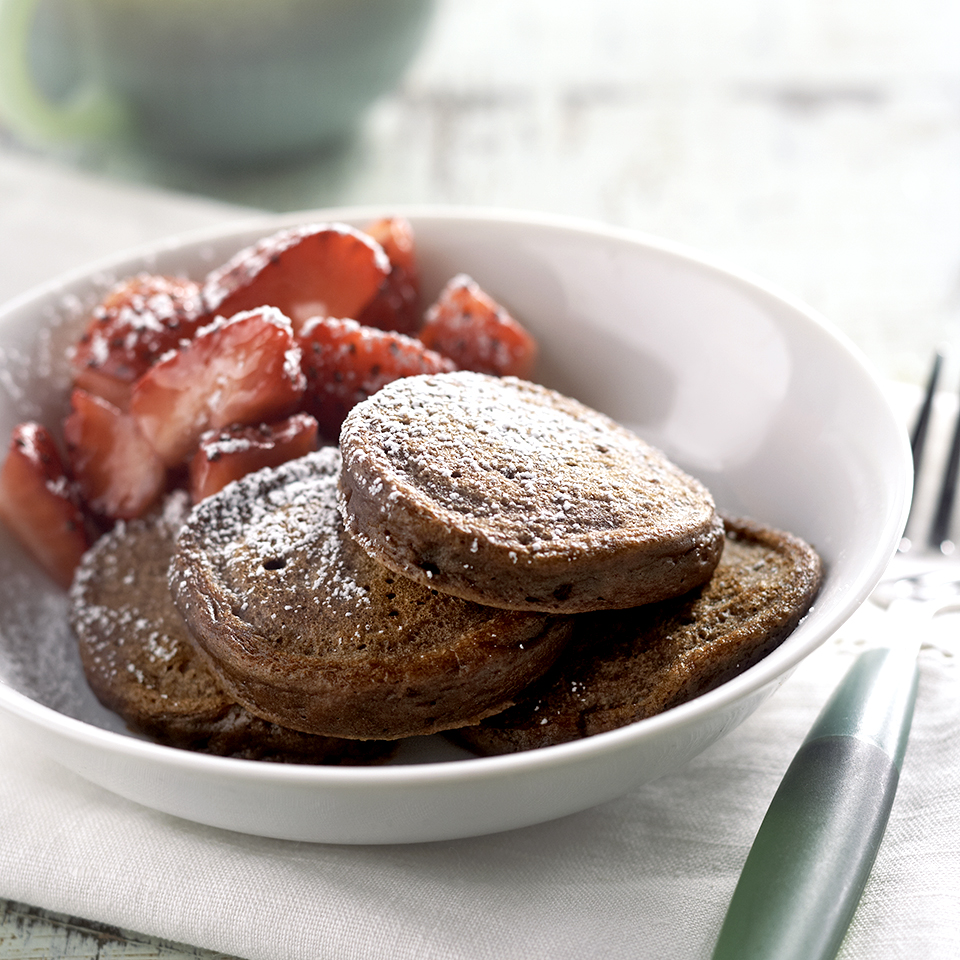 Mini Chocolate Pancakes Recipe Eatingwell
