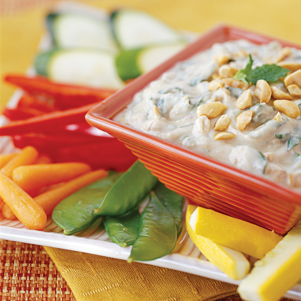 Thai Spinach Dip Diabetic Living Magazine