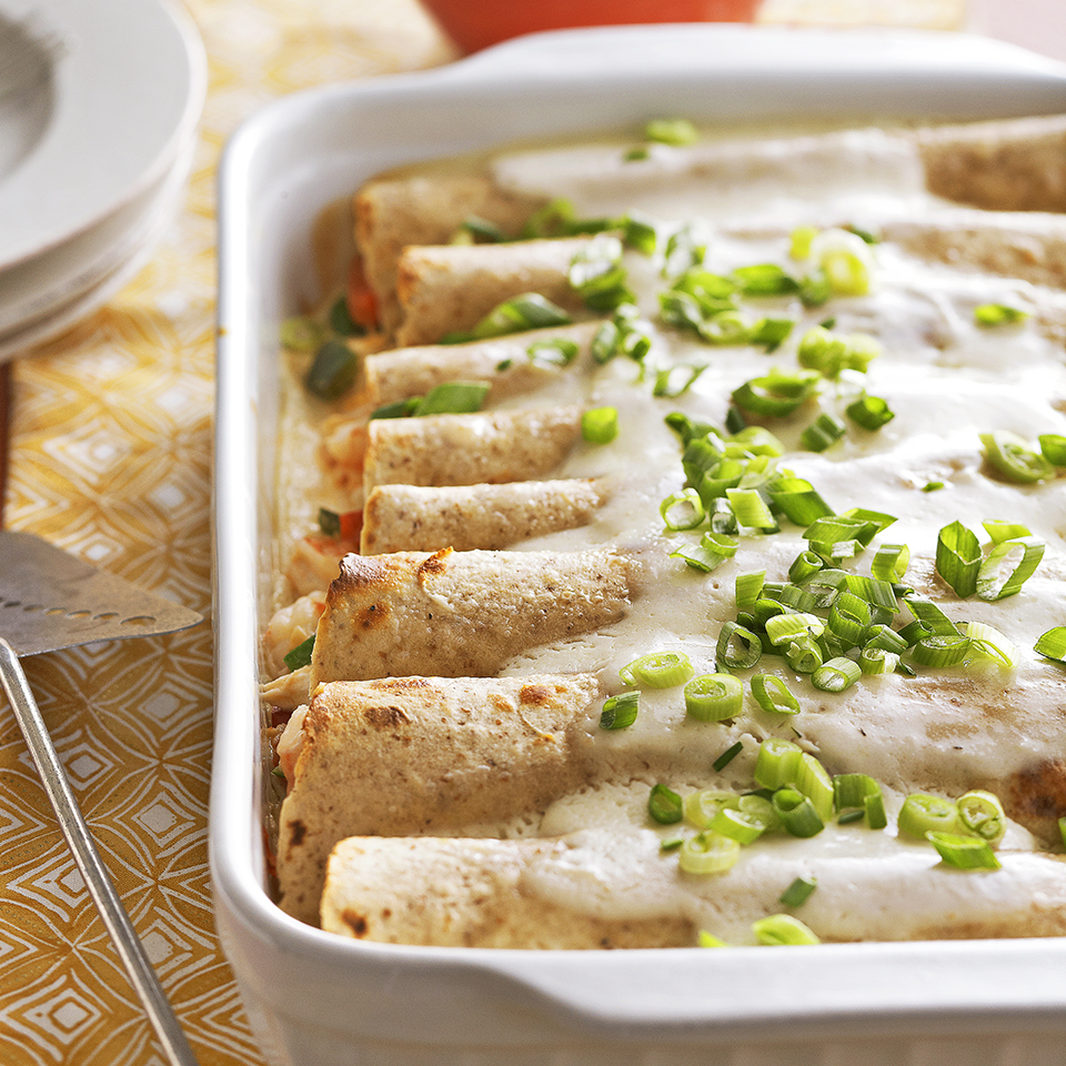 Seafood Enchiladas Recipe Eatingwell