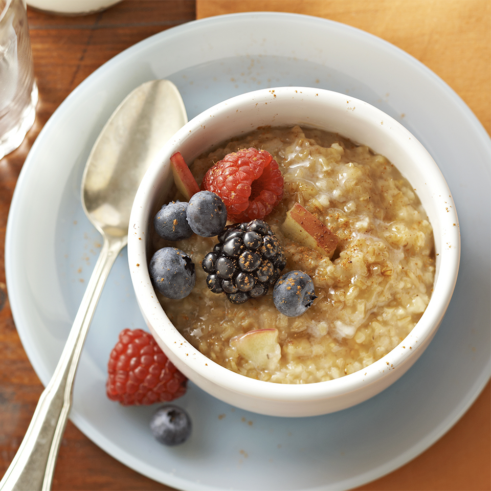 Spiced Apple Berry Oatmeal Trusted Brands