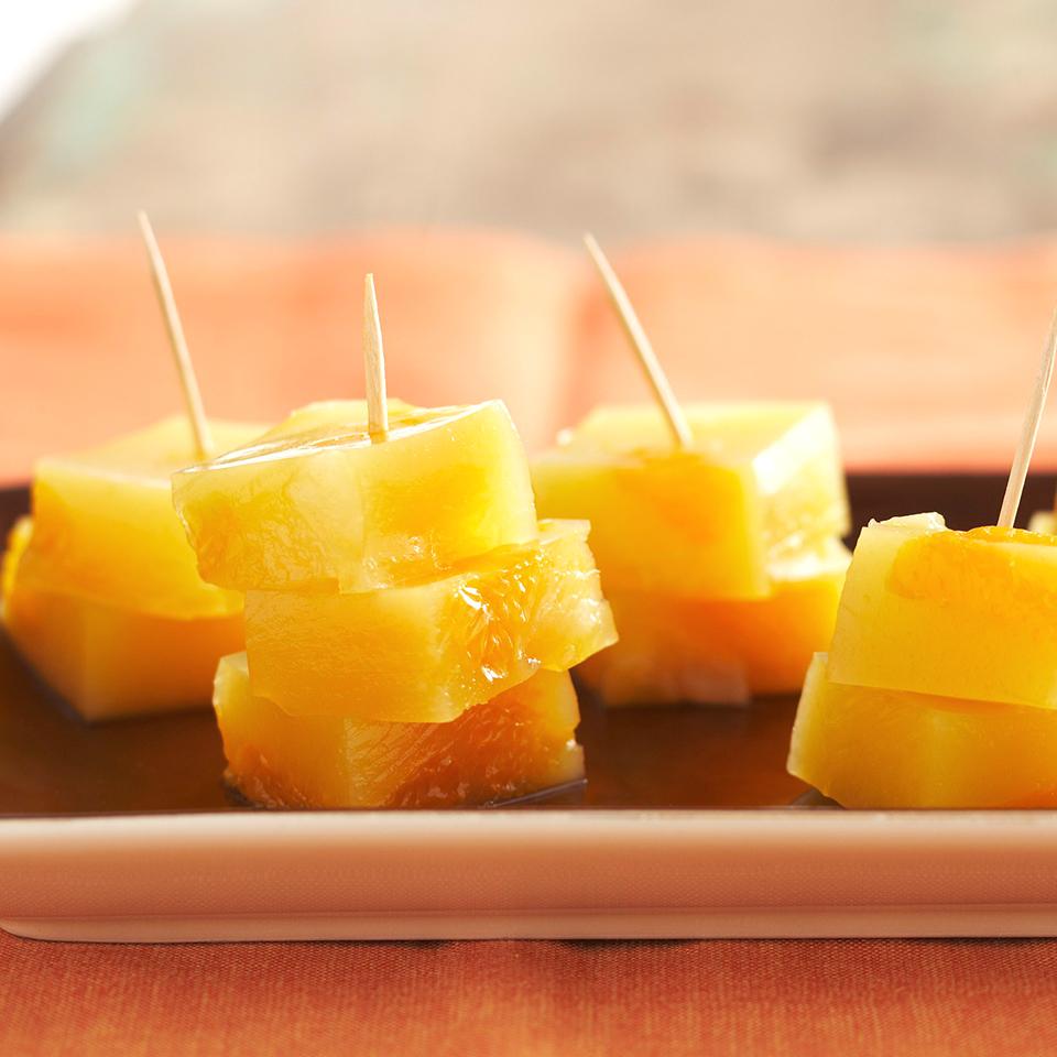 Jiggly Fruit Blocks Diabetic Living Magazine