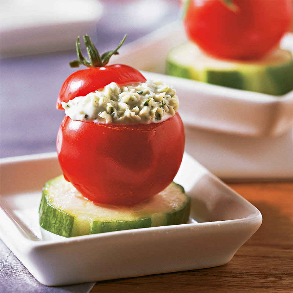 Herb-Stuffed Cherry Tomatoes Trusted Brands