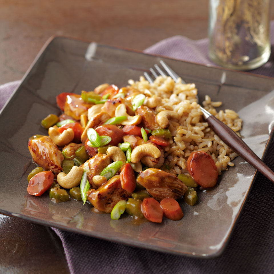 Chicken Honey Nut Stir-Fry Diabetic Living Magazine