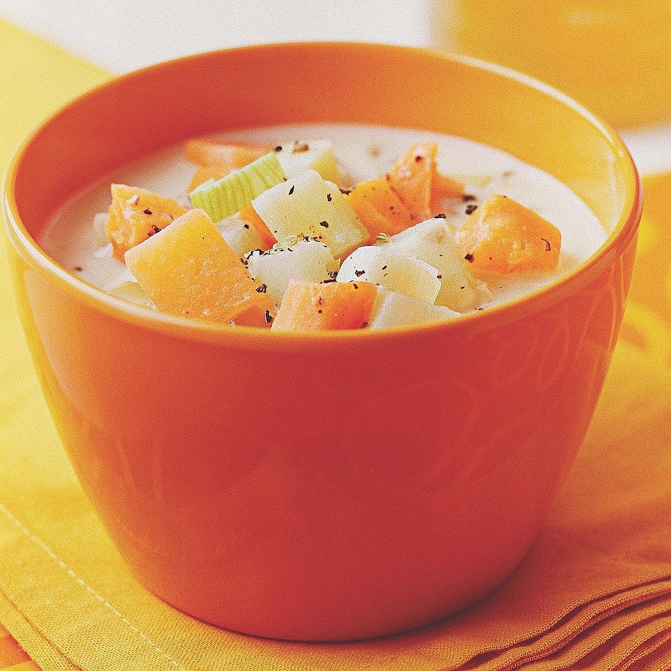 Root Vegetable Chowder Diabetic Living Magazine